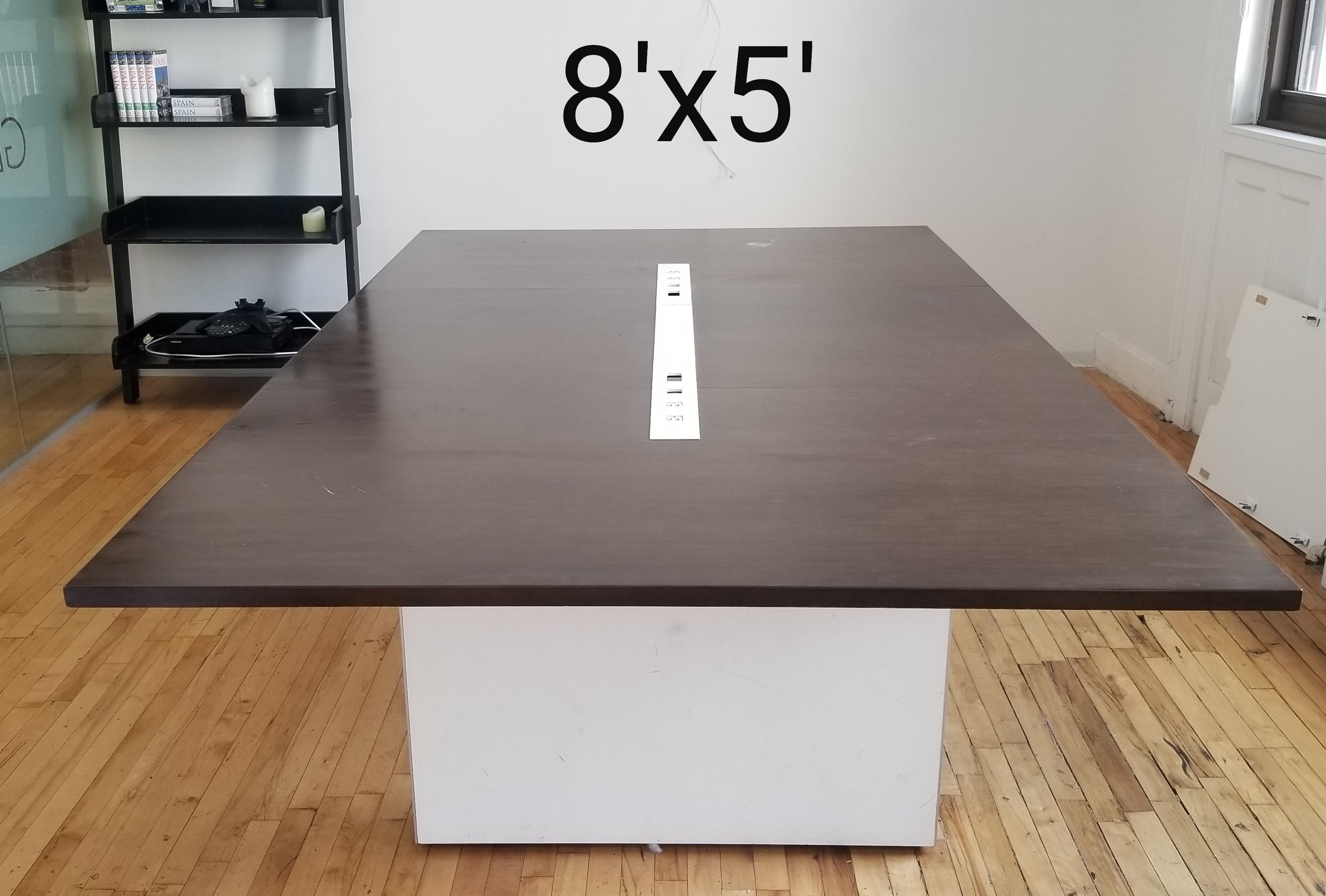 #284. 8X5 Walnut Contemporary Table