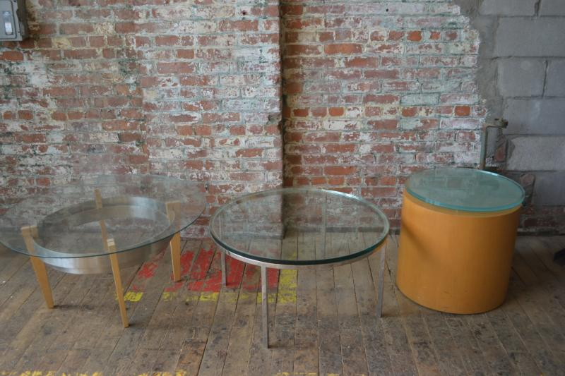 38. Assorted Glass Tables