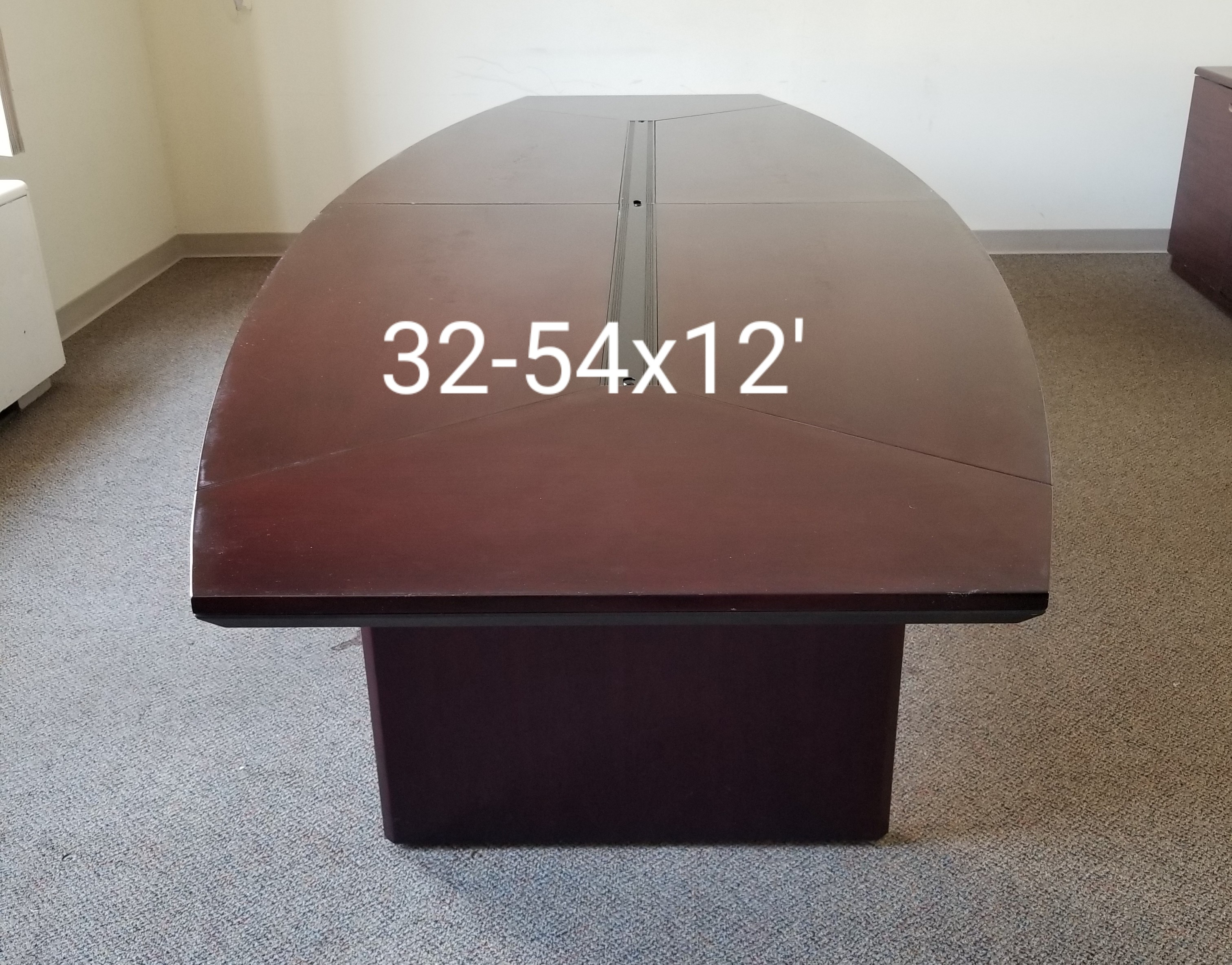 #251. 12 ft Conference Table