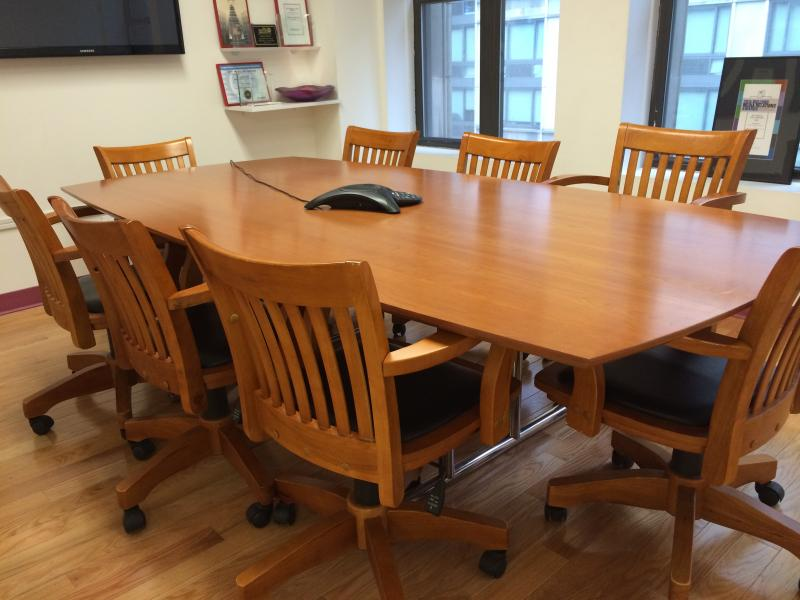 5. Conference Table 8 Ft
