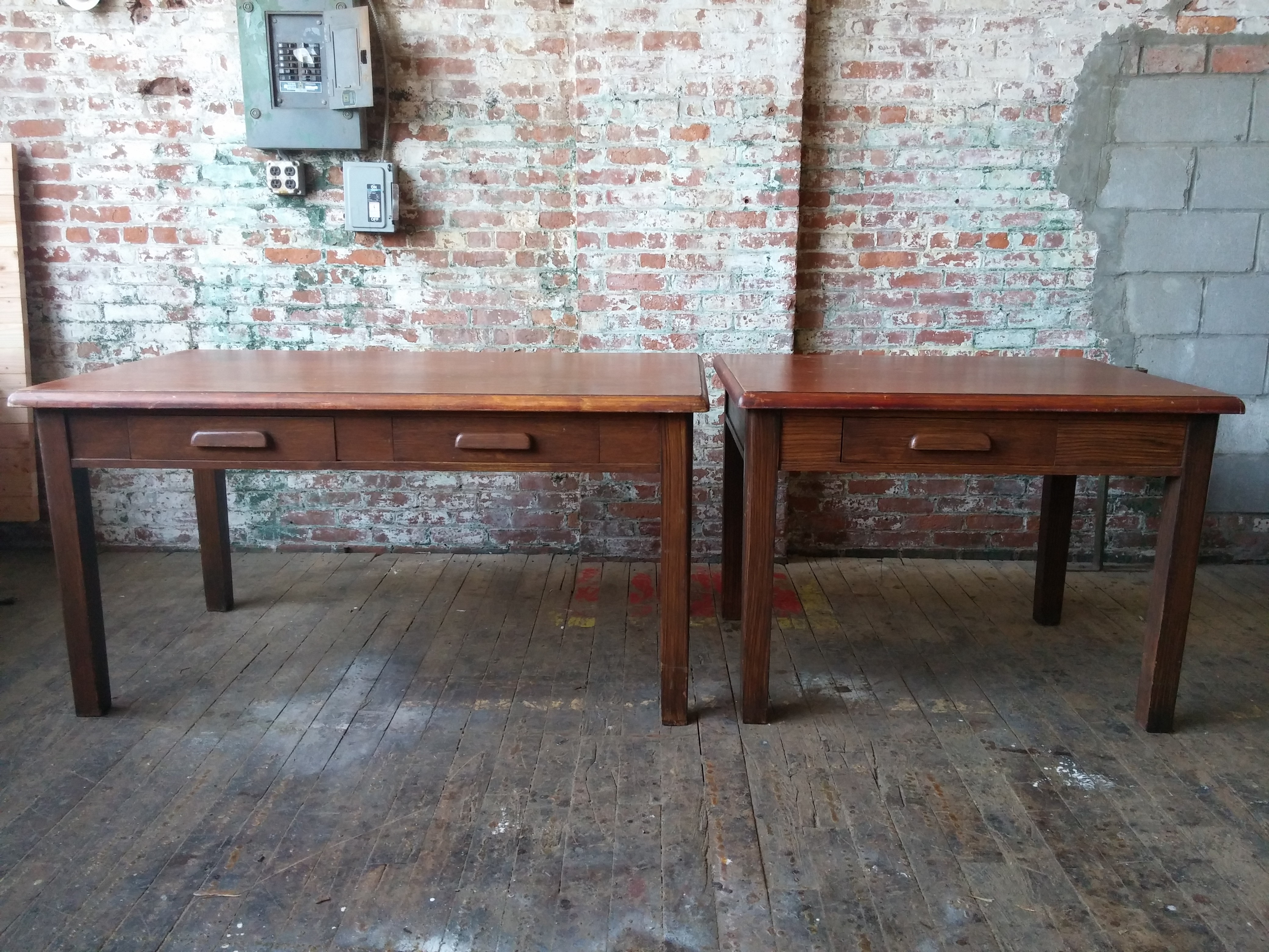 54A. Courtroom Tables 34x42  34x60