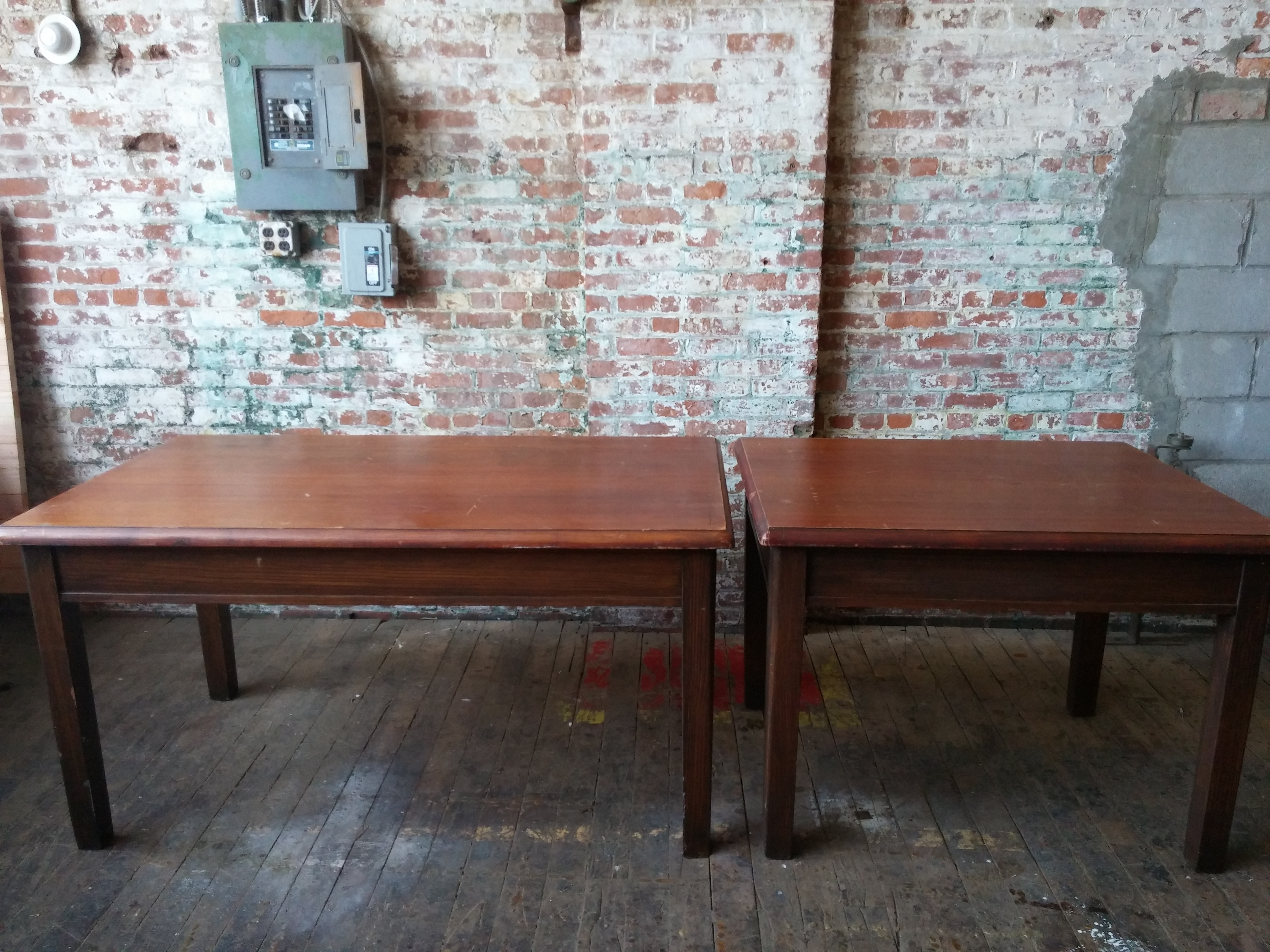 54. Courtroom Tables 34x42  34x60