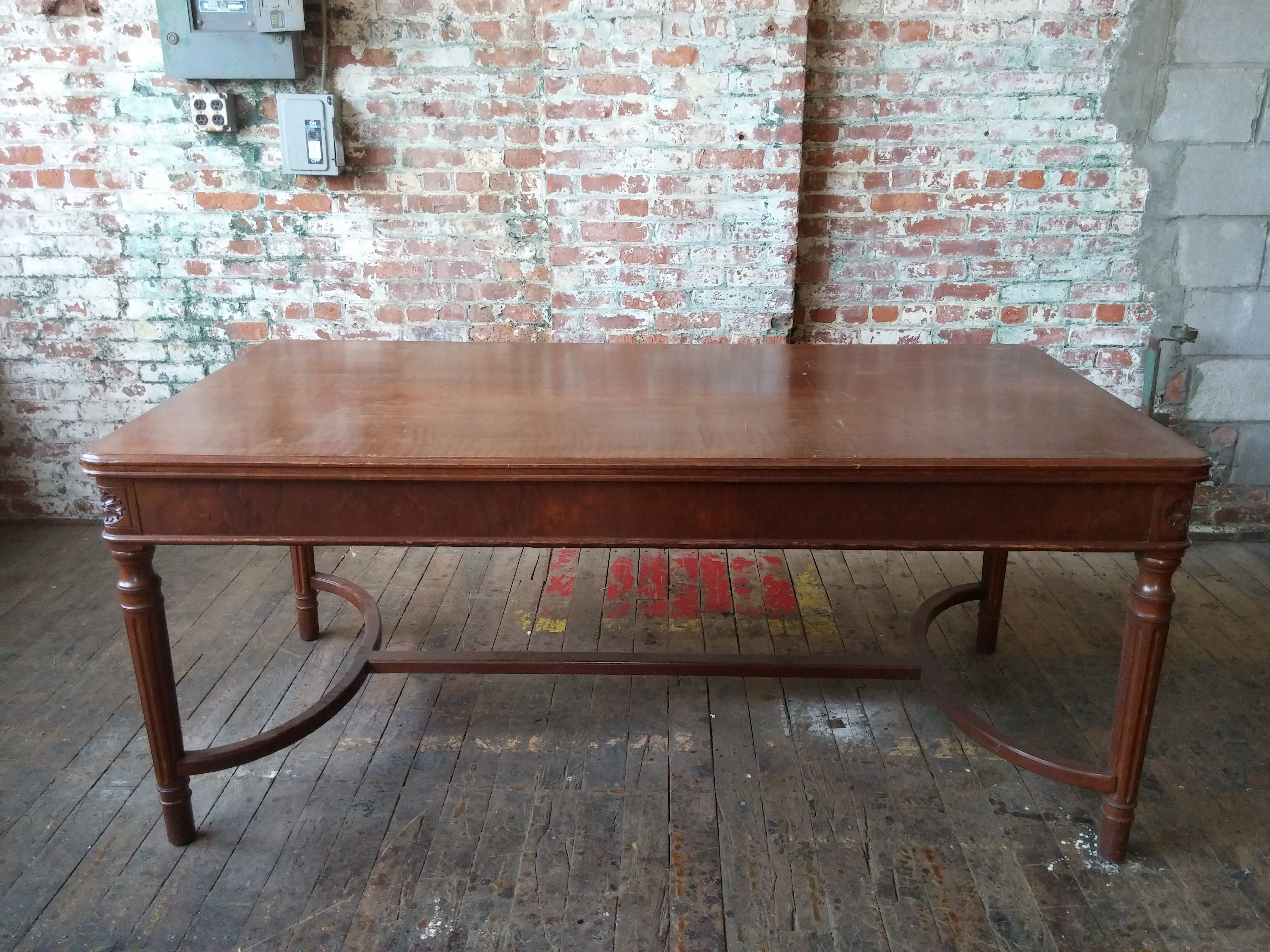 56A.Traditional Courtroom Table