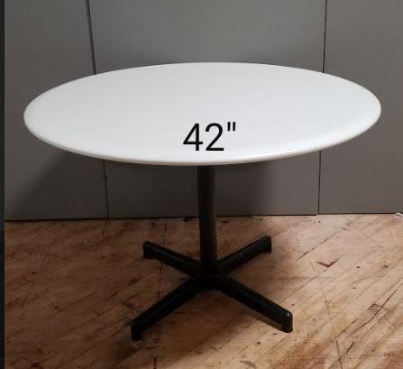 #298. H. Miller 42in White Round