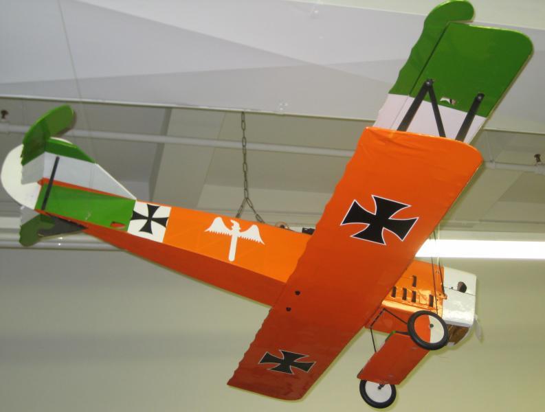 43. Vintage Fighter Plane