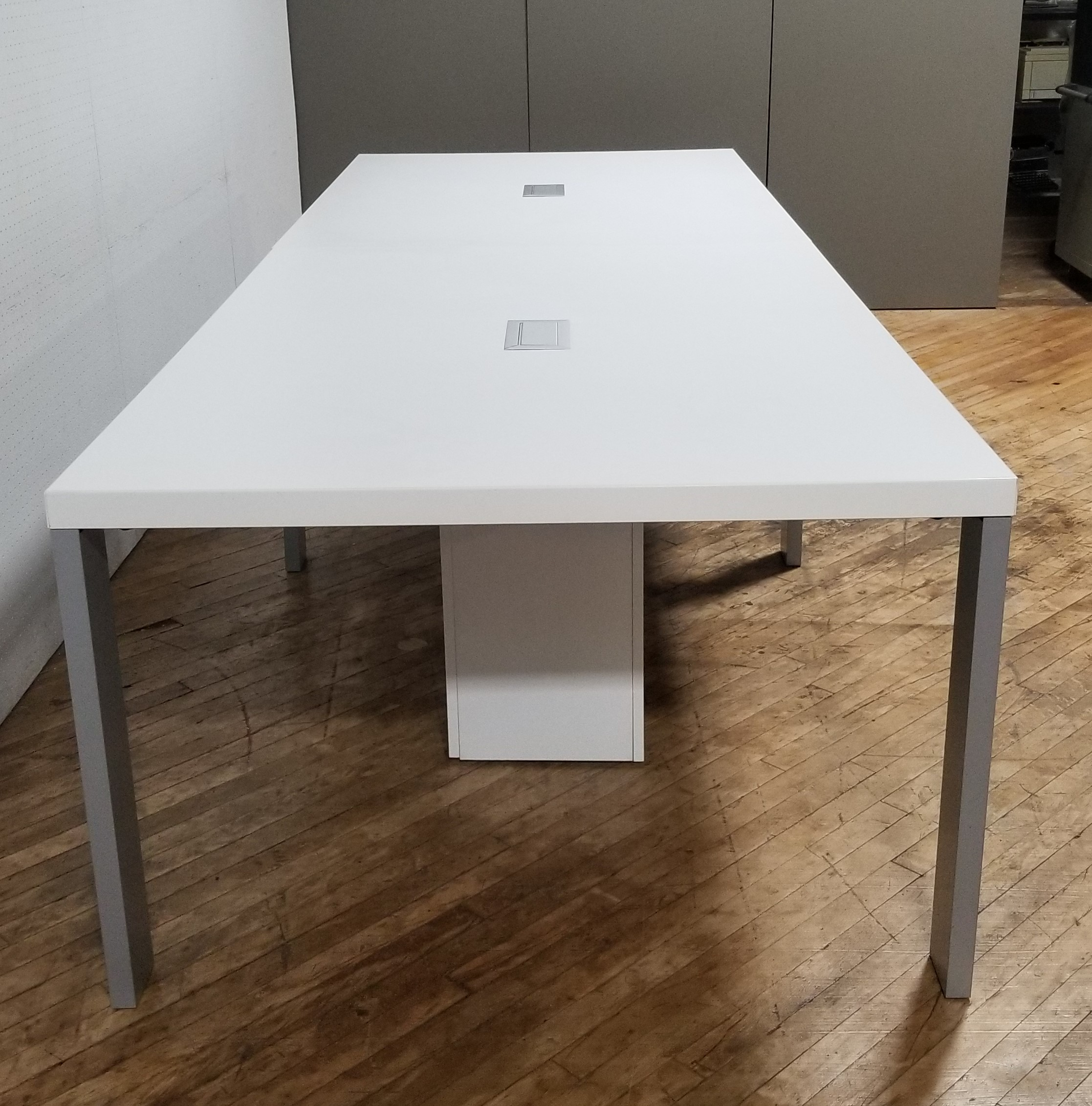 #310A. White Conference Table Rental