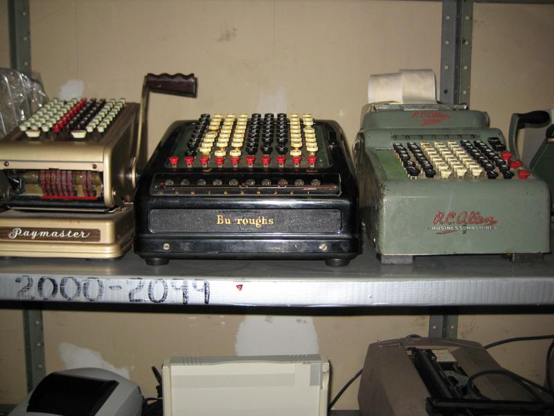 34. Vintage Adding Machines