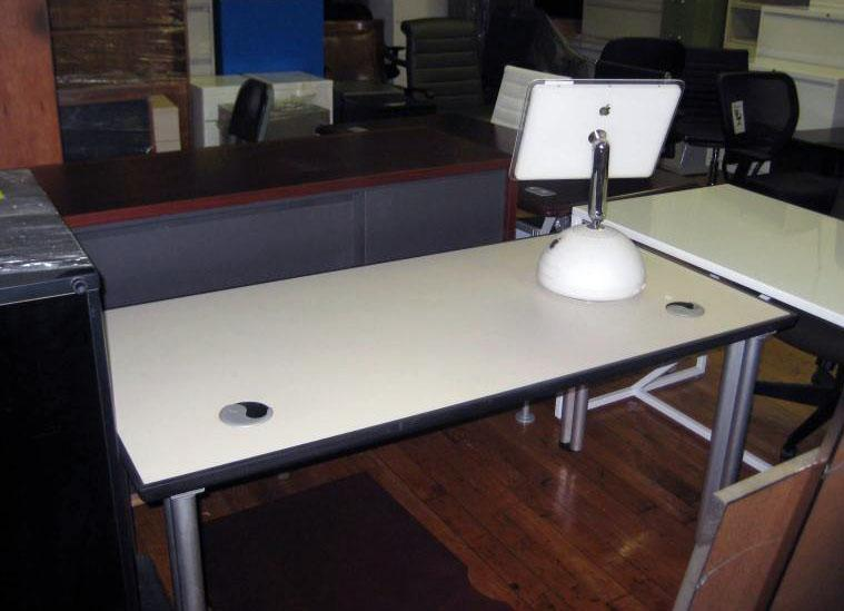 22. Knoll writing table 30D X 60W
