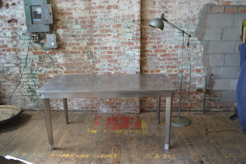 74. Vintage tanker table