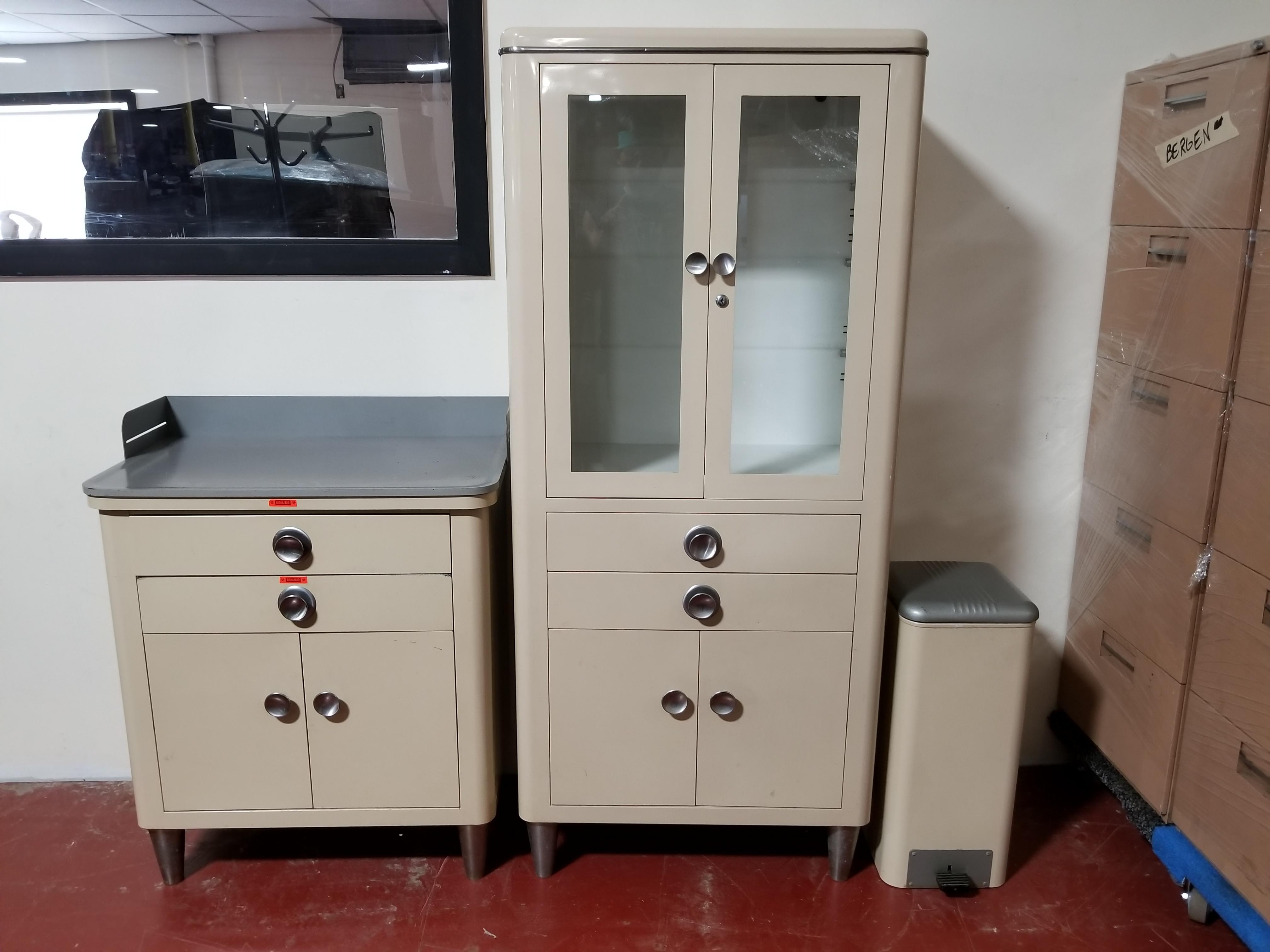 #89. Vintage Medical Cabinets