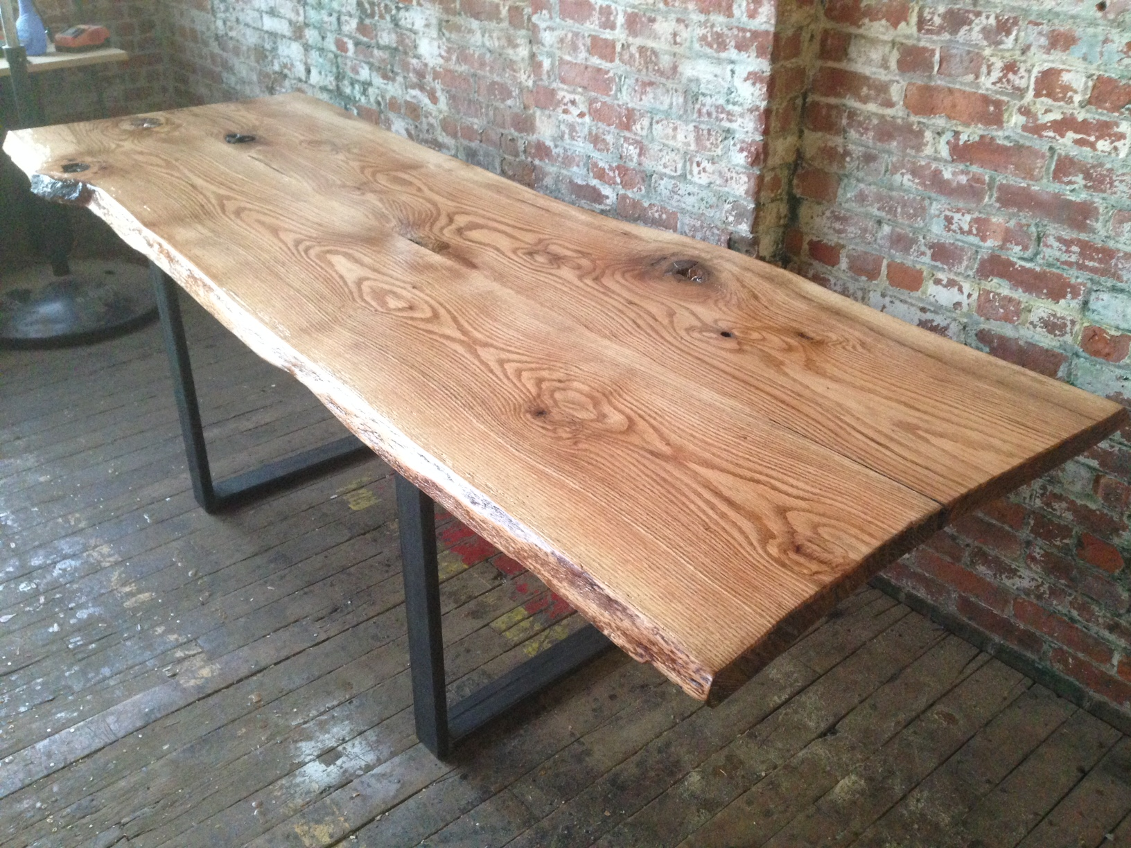 26. Oak Conference Table 96''x34''