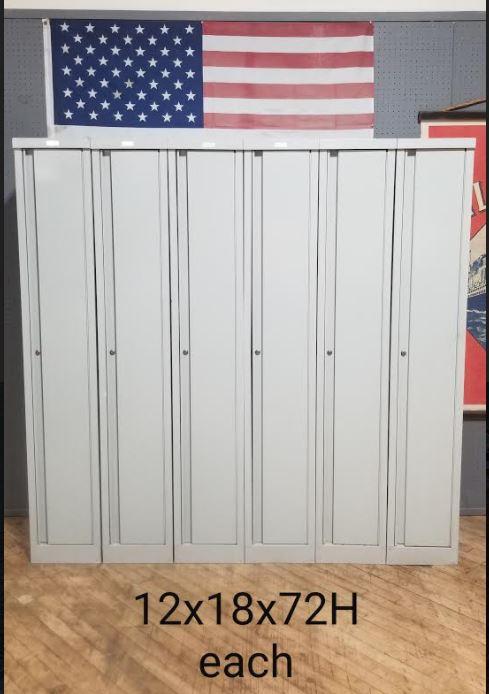 #131. White Lockers