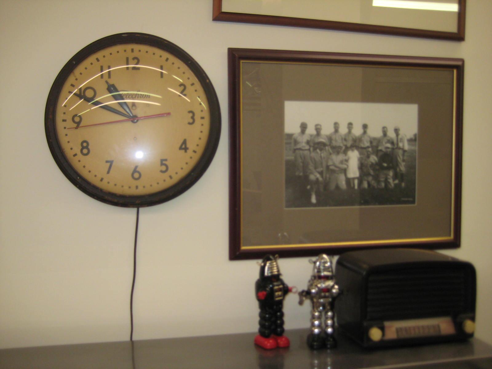 60. Vintage Time Clock