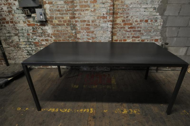 89. Custom Steel Tables Available
