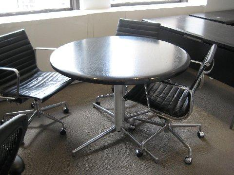 40. Black conference Table