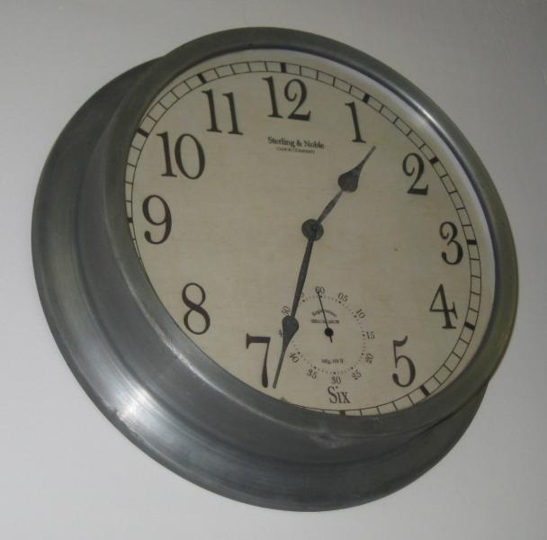 22. Sterling and Noble Clock