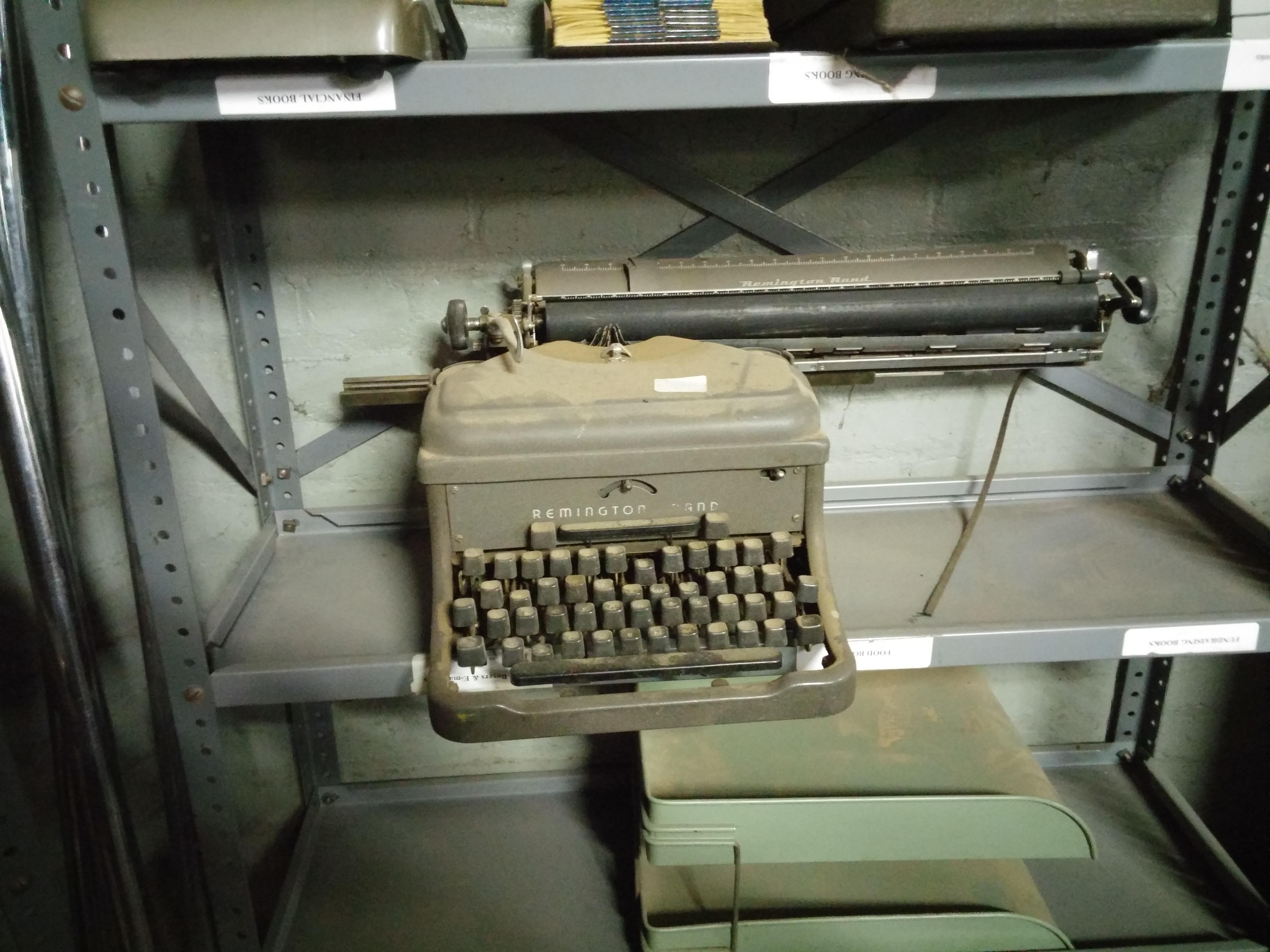 68. Typewriter