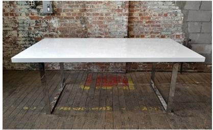 87.Contemp Conference Table 39x79