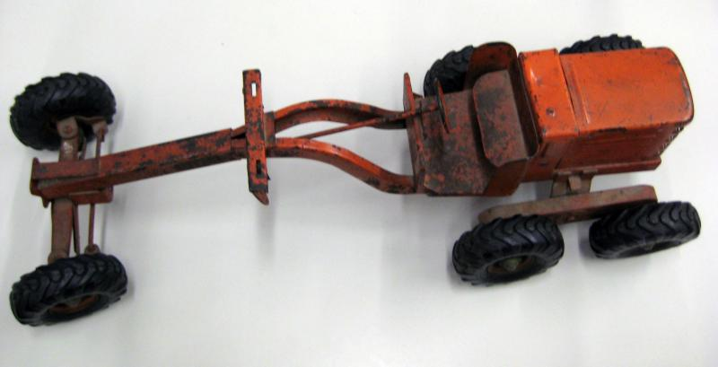 48. Vintage Toy Tractor