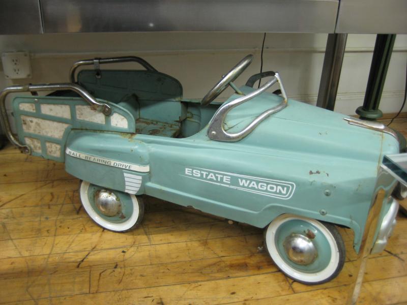 37. Vintage Child Size Car