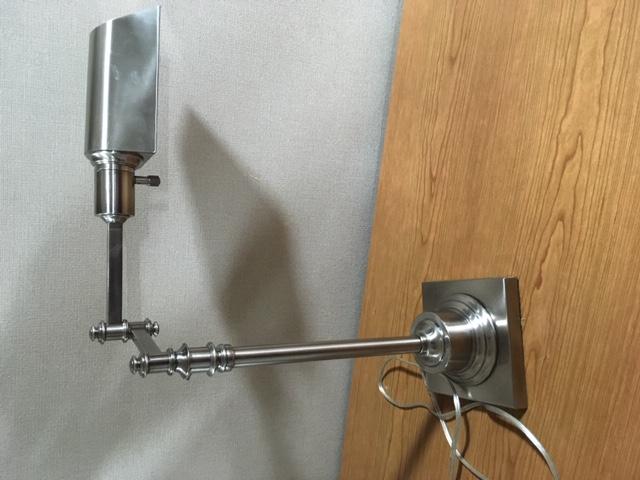 #113. Chrome Desk Lamp