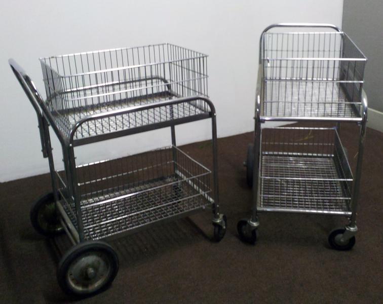 46. Vintage Metal Carts