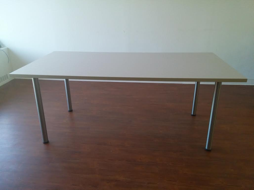 84. Beige Table 36''x72''