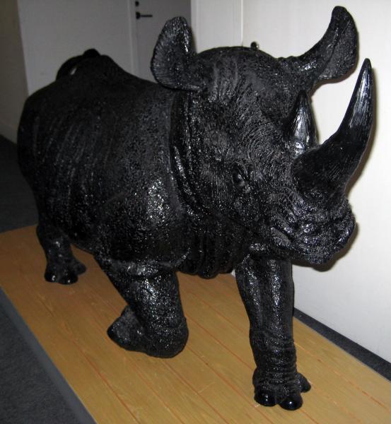 12. Lifesize Model Rhino