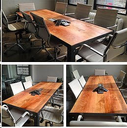 141. Custom Cherry Conference Table