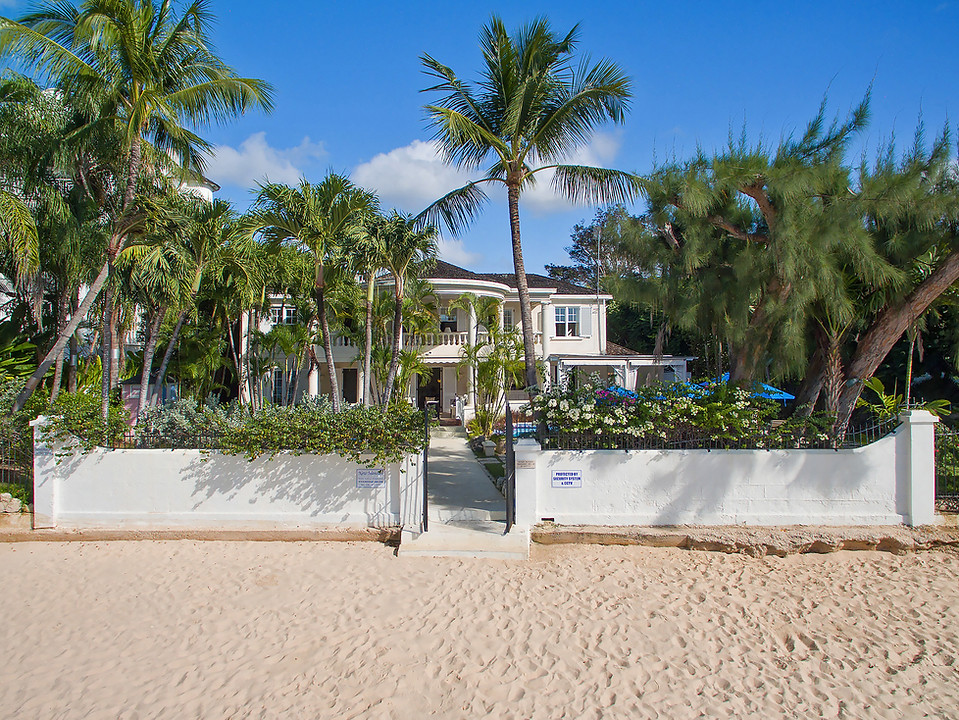 New Mansion from the beach
