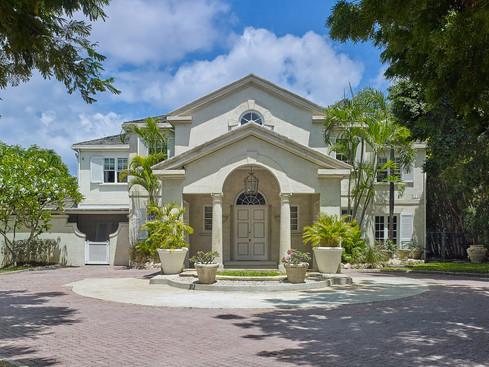 New Mansion Front Entrance