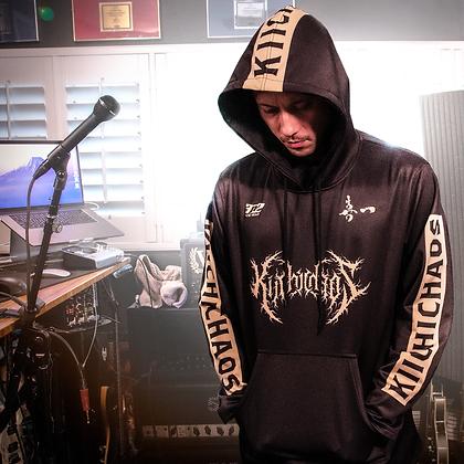 Black Metal Hoodie