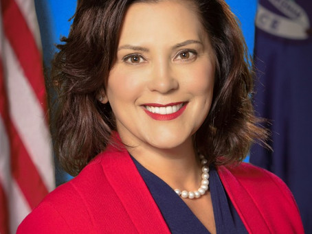 Mar 9, 2021   Governor Gretchen Whitmer to Keynote DFL Founders Day Dinner