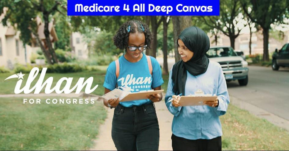 Medicare 4 All Deep Canvas Phone Bank