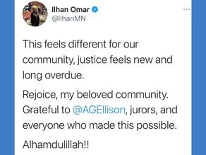 Apr 20, 2021 | Rep. Ilhan Omar Statement on Derek Chauvin Conviction