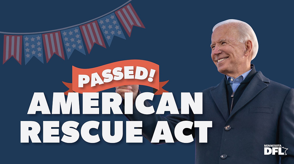 DFL Party Statement on President Biden Signing the American Rescue Plan Into Law