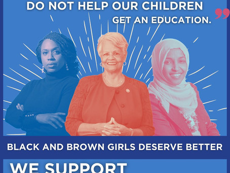 Mar 26, 2021 | Rep.Omar & more Re-Introduce Bold Legislation to End School Pushout of Girls of Color