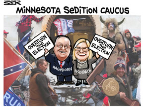 January 7, 2021 | DFL Party Calls for Reps Hagedorn and Fischbach to be Expelled from Congress