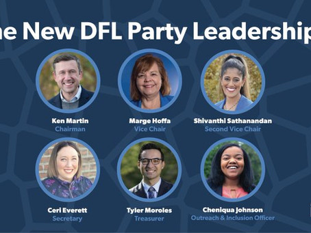 Feb 6, 2021   Minnesota DFL Party Elects New Leadership Team