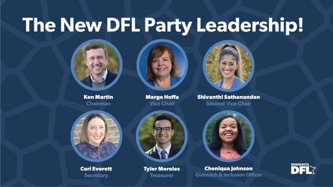Minnesota DFL Party Elects New Leadership Team