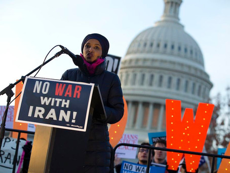 December 8, 2020 | Rep. Omar on NDAA: Power of the Military-Industrial Complex 'Firmly Entrenched'