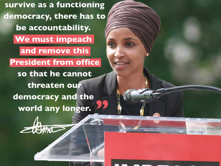 January 13, 2021 | ICYMI: Rep. Omar Provides Remarks on Impeachment Vote