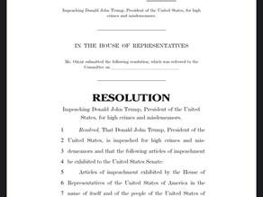 January 7, 2021 | Rep. Omar Unveils Privileged Impeachment Resolution Against President Trump