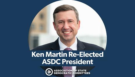 January 21, 2021 | Ken Martin Unanimously Re-Elected to Lead Democratic State Parties