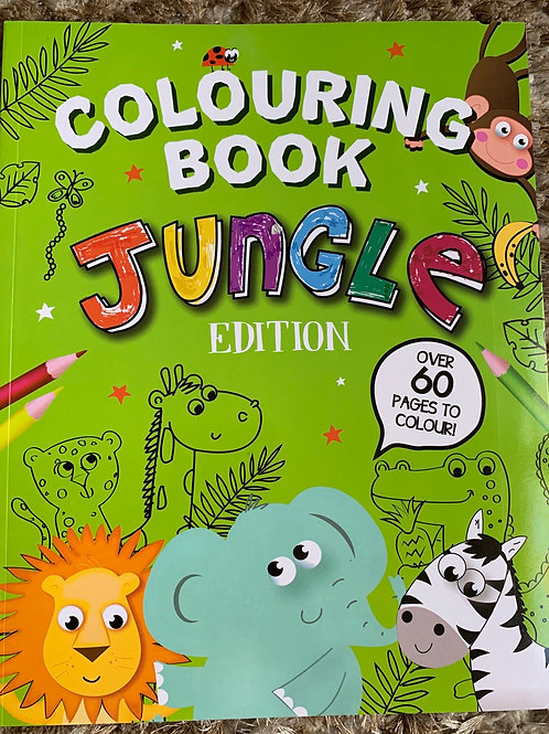 Jungle Edition Colouring Book