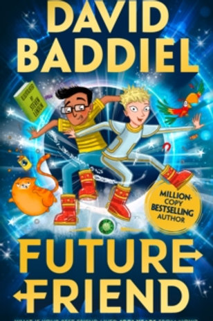 Future Friend ( David Baddiel) Hardback