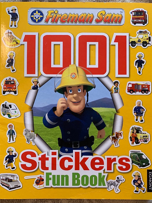 Fireman Sam 1001 Sticker Fun Book