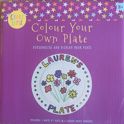 Colour your own Plate