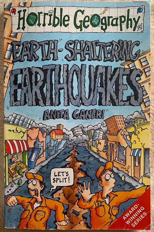 Horrible Histories Earth Shattering Earthquakes