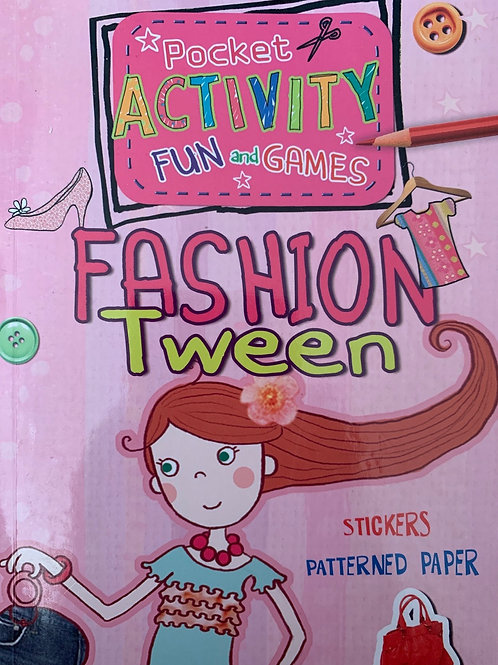Pocket Activity Fun and Games Fashion Tween